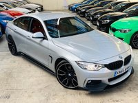 USED 2016 66 BMW 4 SERIES 2.0 420d M Sport Gran Coupe (s/s) 5dr RED LEATHER 20S ! FSH 1 OWNER