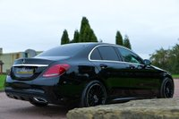 USED 2017 17 MERCEDES-BENZ C CLASS 2.1 C250d AMG Line G-Tronic+ (s/s) 4dr NAV+CAMERA+ONE OWNER