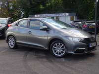 USED 2013 13 HONDA CIVIC 1.8 I-VTEC SE-T 5d 140 BHP Nav,Cruise,Media,DAB