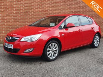 2012 VAUXHALL ASTRA 1.4 ACTIVE 5d  £3295.00