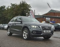 USED 2011 61 AUDI Q5 2.0 TDI QUATTRO S LINE 5d AUTO 170 BHP NAVIGATION SYSTEM +   LEATHER +  PAN ROOF +  19 INCH ALLOYS +  1 OWNER FROM NEW  +  PARKING AID +