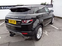 USED 2013 63 LAND ROVER RANGE ROVER EVOQUE 2.2 SD4 PRESTIGE 5d 190 BHP Sat Nav Black Leather Interior 19 inc Alloys Cruise And Climate Control Xenon Headlights Reverse Assist Camra