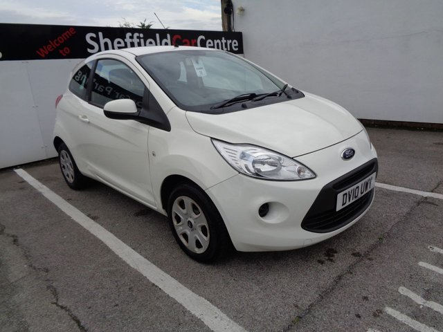 USED 2010 10 FORD KA 1.2 EDGE 3d 69 BHP 55.4 Mpg Only £30 Rd Tax A Yr Air Con Electric Windows Abs