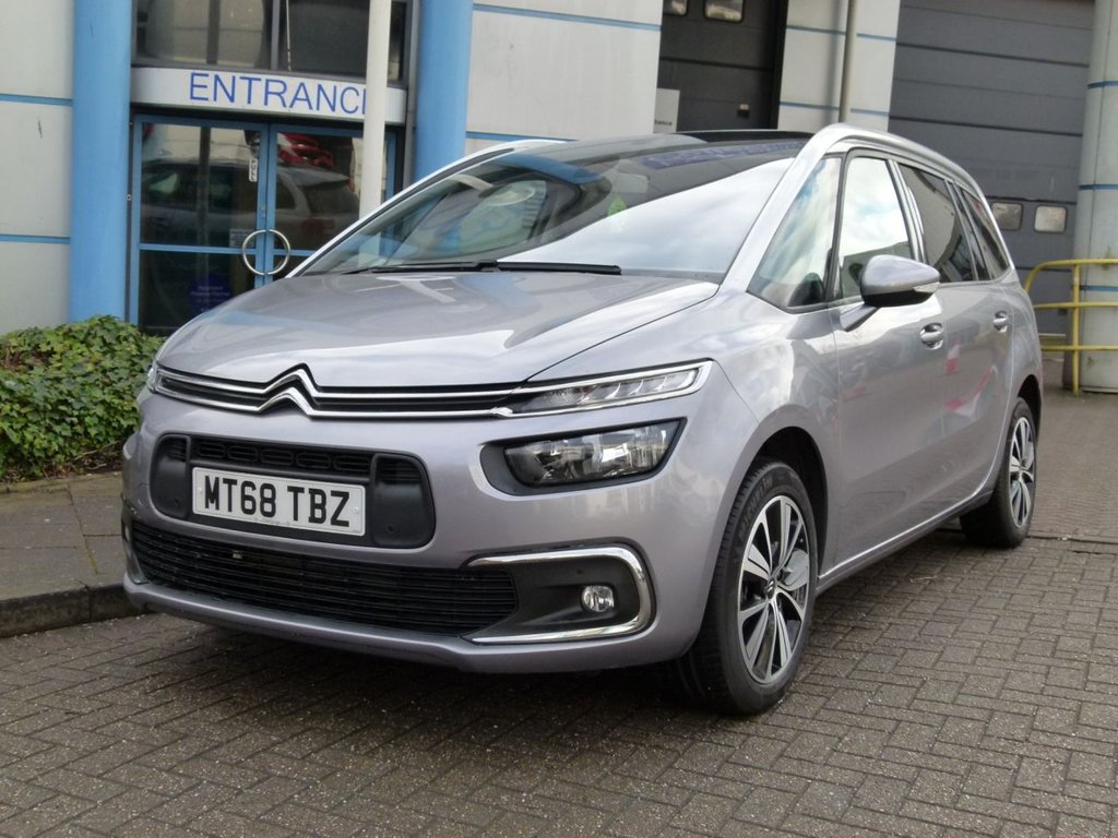 USED 2018 68 CITROEN C4 SPACETOURER 1.5 GRAND BLUEHDI FEEL S/S 5d 129 BHP