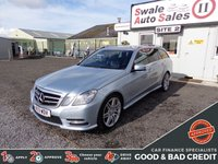 USED 2013 13 MERCEDES-BENZ E CLASS 2.1 E250 CDI BLUEEFFICIENCY SPORT 5 DOOR AUTO 204 BHP GOOD AND BAD CREDIT SPECIALISTS! APPLY TODAY!