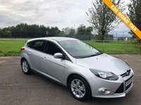 USED 2014 64 FORD FOCUS 1.6 TITANIUM NAVIGATOR TDCI 5d 113 BHP £20 Road Tax and FSH