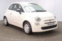 USED 2015 65 FIAT 500 1.2 POP 3DR 1 OWNER 69 BHP FULL SERVICE HISTORY + £20 12 MONTHS ROAD TAX + MULTI FUNCTION WHEEL + AIR CONDITIONING + XENON HEADLIGHTS + RADIO/AUX/USB + ELECTRIC WINDOWS + ELECTRIC MIRRORS