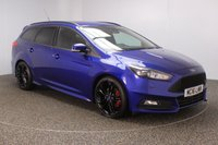 USED 2016 16 FORD FOCUS 2.0 ST-3 5DR LEATHER SEATS 1 OWNER 247 BHP FULL SERVICE HISTORY + HEATED LEATHER SEATS + SATELLITE NAVIGATION + REVERSE CAMERA + PARKING SENSOR + RECARO SPORT SEATS + HEATED STEERING WHEEL + BLUETOOTH + CRUISE CONTROL + CLIMATE CONTROL + MULTI FUNCTION WHEEL + PRIVACY GLASS + XENON HEADLIGHTS + DAB RADIO + ELECTRIC WINDOWS + ELECTRIC MIRRORS + 19 INCH ALLOY WHEELS