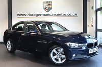 """USED 2014 64 BMW 3 SERIES 2.0 320D SE 4DR 184 BHP full bmw service history - £30 road tax Finished in a stunning imperial metallic blue styled with 17"""" . Upon opening the drivers door you are presented full leather interior, full bmw service history, bluetooth, dab radio, cruise control, Automatic air conditioning, Rain sensors, Fog lights, Additional 12V sockets, Automatic locking during starting, parking sensors"""