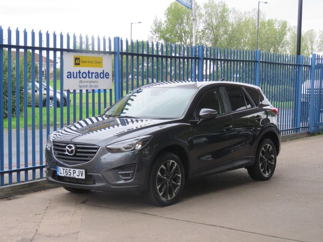 USED 2015 65 MAZDA CX-5 2.2 D SPORT NAV 5d 148 BHP SatNav,Full Leather,Privacy Glass,Heated seats