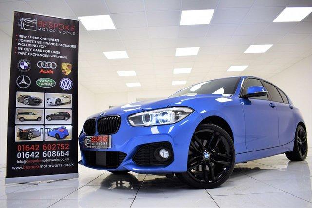 2015 65 BMW 1 SERIES 125D M SPORT 2.0 TWIN TURBO 5 DOOR AUTOMATIC