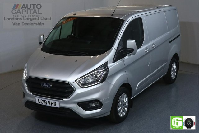 2018 18 FORD TRANSIT CUSTOM 2.0 300 LIMITED L1 H1 129 BHP EURO 6 ENGINE AIR CON, F-R PARKING SENSORS, ALLOY WHEEL, HEATED FRONT SEATS