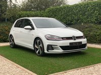 USED 2018 18 VOLKSWAGEN GOLF 2.0 GTI TSI DSG 5d AUTO 227 BHP A Pristine Example of the Original Ultimate Hot Hatch with DSG Paddle Shift Gearbox and the Latest Colour Display Virtual Cockpit. Specification also Includes: Heated Sports Seats, Satellite Navigation + Virtual Cockpit + Bluetooth Connectivity + Apple Car Play + APP Connect + DAB Radio, Automatic Xenon Headlights + LED Signature + Headlight Wash, 18 Inch Alloy Wheels, Leather Multi Function Sports Steering Wheel, Heated Electric Powerfold Mirrors, Front and Rear Park Distance Control.