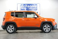 USED 2016 16 JEEP RENEGADE 1.6 DIESEL M-JET LIMITED TOP SPEC 118 BHP