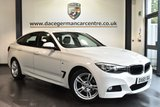 "USED 2016 65 BMW 3 SERIES GRAN TURISMO 2.0 320D M SPORT GRAN TURISMO 5DR 188 BHP superb service history Finished in a stunning alpine white styled with 18"" alloys. Upon opening the drivers door you are presented full leather interior, superb service history, satellite navigation, bluetooth, dab radio, cruise control, 	Automatic air conditioning, sport seats, Light package, Rain sensors, Fog lights, Automatic locking during starting, M Sports package, parking sensors"