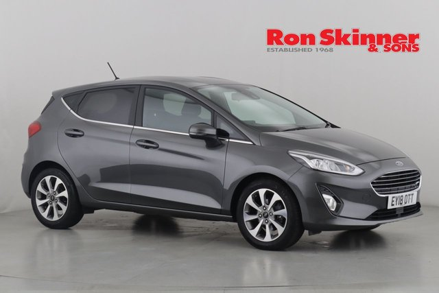 View our 2018 18 FORD FIESTA 1.0 ZETEC 5d 99 BHP