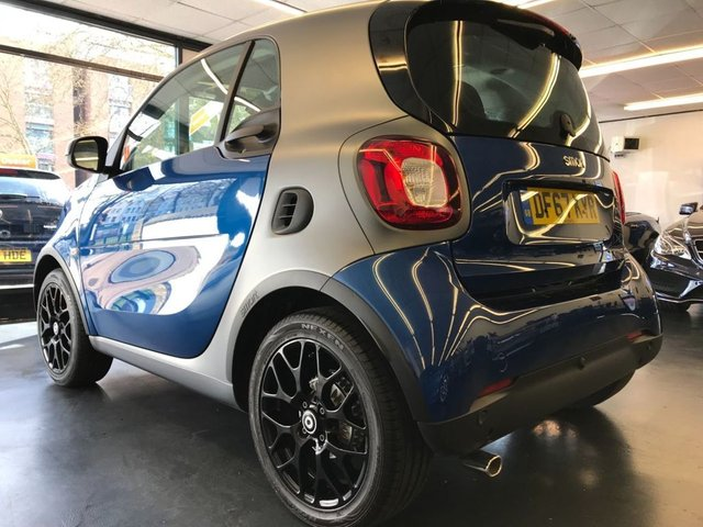 USED 2017 67 SMART FORTWO 1.0 PRIME SPORT PREMIUM 2d AUTO 71 BHP REAR PARKING SENSORS,PANORAMIC ROOF, HEATED SEATS.