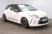 USED 2013 13 CITROEN DS3 1.6 E-HDI DSTYLE PLUS 3DR 90 BHP FULL SERVICE HISTORY + FREE 12 MONTHS ROAD TAX + PARKING SENSOR + BLUETOOTH + CRUISE CONTROL + CLIMATE CONTROL + RADIO/CD/AUX/USB + ELECTRIC WINDOWS + PRIVACY GLASS + ELECTRIC MIRRORS + 17 INCH ALLOY WHEELS
