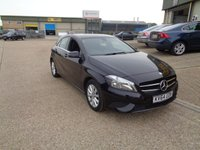 USED 2014 64 MERCEDES-BENZ A CLASS 1.6 A180 BLUEEFFICIENCY SE 5d 122 BHP