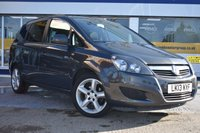 USED 2013 13 VAUXHALL ZAFIRA 1.6 EXCLUSIV 5d 113 BHP NO DEPOSIT FINANCE AVAILABLE