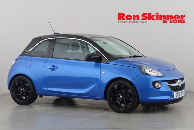 View our 2018 18 VAUXHALL ADAM 1.4 SLAM 3d 98 BHP