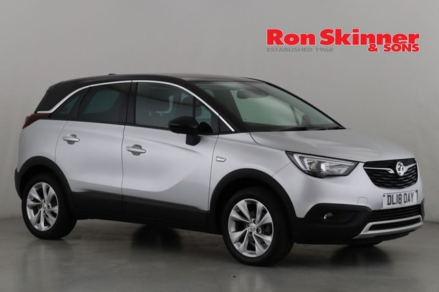View our 2018 18 VAUXHALL CROSSLAND X 1.6 TECH LINE NAV S/S 5d 119 BHP