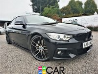 USED 2015 P BMW 4 SERIES 3.0 435D XDRIVE M SPORT 2d AUTO 309 BHP FULLY LOADED TOP SPEC +LEATHER