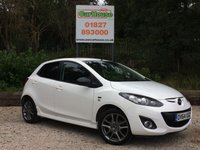 USED 2014 64 MAZDA 2 1.3 SPORT COLOUR EDITION 5dr Low Miles, Sat Nav, £30 Tax