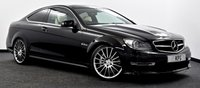 "USED 2014 14 MERCEDES-BENZ C CLASS 6.3 C63 AMG MCT 2dr Pan Roof, COMAND HDD Nav, 19""s"