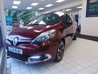USED 2014 14 RENAULT GRAND SCENIC 1.6 DYNAMIQUE TOMTOM BOSE PLUS DCI S/S 5d 130 BHP £30 ROAD TAX + COMBINED FUEL FIGURES OF 68.9 MPG + SATELLITE NAVIGATION + BLUETOOTH + SERVICE HISTORY + MAY 2020 MOT + CRUISE CONTROL + CLIMATE CONTROL + ALLOYS + RADIO/CD PLAYER + ELECTRIC WINDOWS + REMOTE CENTRAL LOCKING + 7 SEATS