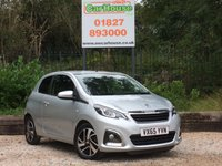 USED 2015 65 PEUGEOT 108 1.2 ALLURE 3dr £0 Tax, Cruise, Isofix