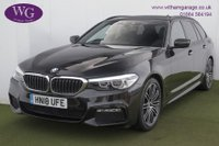 USED 2018 18 BMW 5 SERIES 2.0 520D XDRIVE M SPORT TOURING 5d AUTO 188 BHP