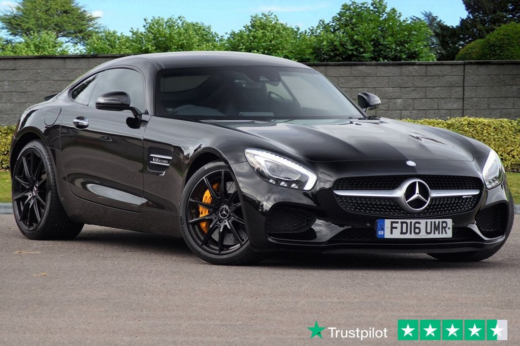 USED 2016 16 MERCEDES-BENZ GT 4.0 AMG GT S PREMIUM 2d AUTO 503 BHP Low Mileage FULL MB SERVICE HISTORY