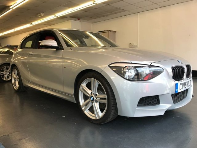 USED 2015 15 BMW 1 SERIES 1.6 116I M SPORT 3d 135 BHP M SPORT, BLUETOOTH PHONE 4 NEW TYRES AND NEW POLLEN FILTER,