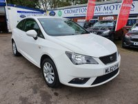 USED 2012 62 SEAT IBIZA 1.4 SE 3d 85 BHP 0%  FINANCE AVAILABLE ON THIS CAR PLEASE CALL 01204 393 181