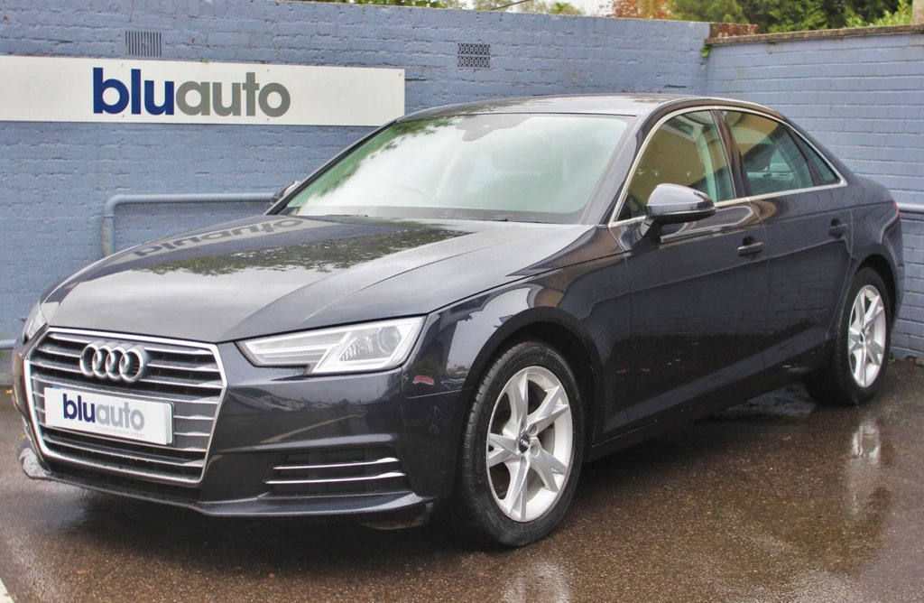 USED 2016 16 AUDI A4 2.0 TDI ULTRA SE 4d 148 BHP 1 Owner, Full Audi History, Parking Sensors, Dual Climate & Cruise Control, Leather Heated Seats, Sat Nav, DAB Radio, Bluetooth/USB/AUX, Low Running Costs