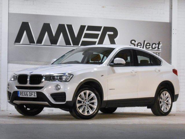 2016 66 BMW X4 2.0 XDRIVE20D SE 4d AUTO 188 BHP