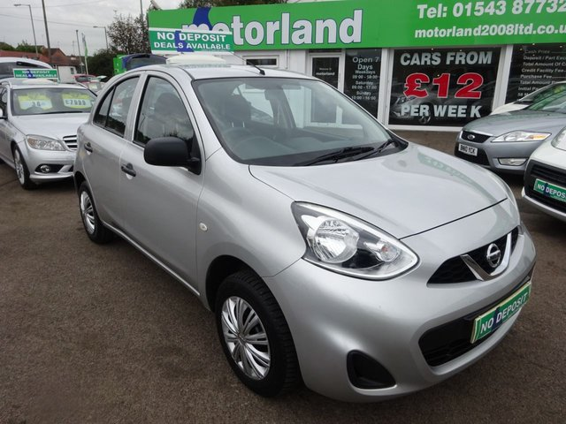 USED 2013 63 NISSAN MICRA 1.2 VISIA 5d 79 BHP ** ONLY 10,000 MILES FROM NEW **