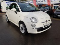 USED 2014 14 FIAT 500 1.2 LOUNGE 3d 69 BHP 0%  FINANCE AVAILABLE ON THIS CAR PLEASE CALL 01204 393 181