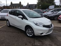 USED 2014 14 NISSAN NOTE 1.2 ACENTA PREMIUM 5d 80 BHP GREAT LOW MILEAGE EXAMPLE WITH FULL SERVICE HISTORY