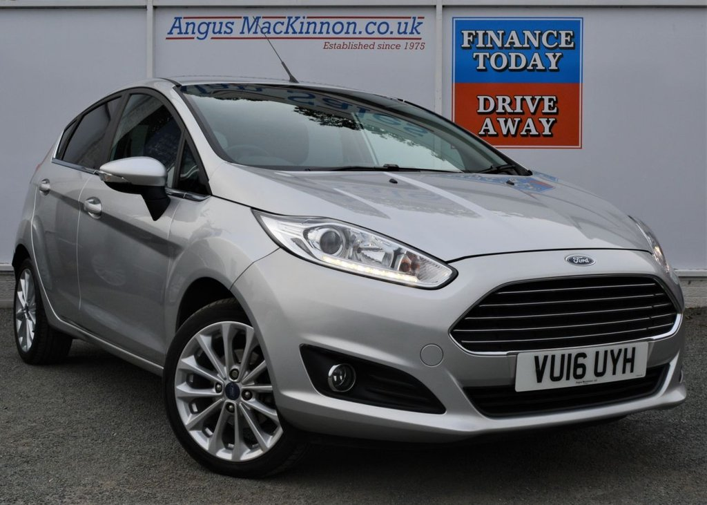 USED 2016 16 FORD FIESTA 1.0 TITANIUM X 5d Hatchback with Massive High Spec FULL SERVICE HISTORY