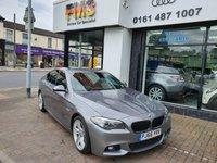 2016 BMW 5 SERIES 2.0L 520D M SPORT 4d AUTO 188 BHP £16995.00