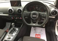 USED 2017 67 AUDI A3 CABRIOLET 2.0 TDI S LINE 2d AUTO 148 BHP