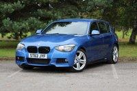 USED 2012 62 BMW 1 SERIES 2.0 116D M SPORT 5d 114 BHP