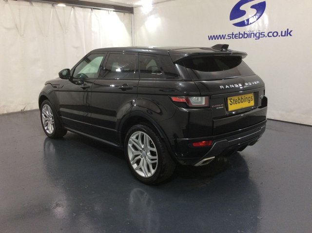 LAND ROVER RANGE ROVER EVOQUE at Stebbings