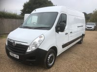 USED 2016 66 VAUXHALL MOVANO 2.3 F3500 L3H2 P/V CDTI 123 BHP GREAT VALUE * FANTASTIC CONDITION * FULL SERVICE + 12 MONTHS MOT