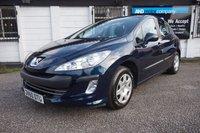 USED 2010 60 PEUGEOT 308 1.6 S HDI 5d 107 BHP Service History, 12 Months MOT, £30 Tax, Rear Parking Sensors