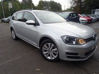 USED 2013 63 VOLKSWAGEN GOLF 1.4 SE TSI BLUEMOTION TECHNOLOGY 5d 120 BHP 1 Previous owner, Bluetooth, Dab, Parking sensors