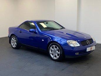 1999 MERCEDES-BENZ SLK 2.3 SLK230 KOMPRESSOR 2d AUTO 190 BHP £3995.00