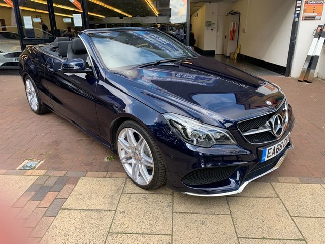 USED 2016 66 MERCEDES-BENZ E-CLASS 2.1 E 220 D AMG LINE EDITION 2d AUTO 174 BHP EXEMPT FROM THE ULTRA LOW EMISSIONS ZONE, EXCELLENT COLOUR CODING WITH A REMARKABLE RED ROOF, XENON HEADLIGHTS, FRONT & REAR PARKING SENSORS